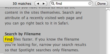 Safari search is greatly improved