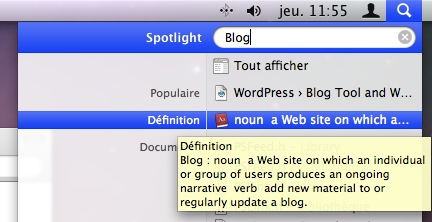 Spotlight definition